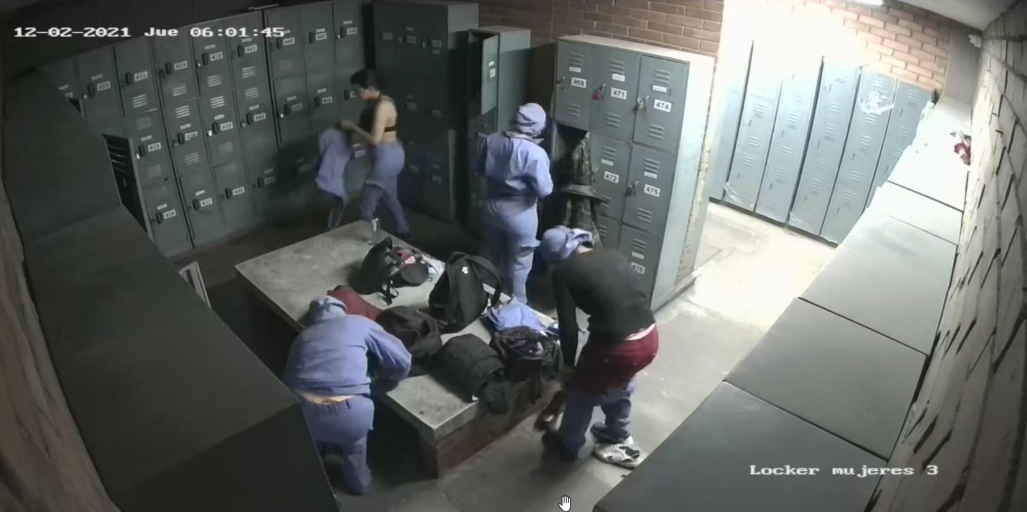 Камеры наблюдения в массажном салоне